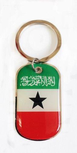 SOMALILAND COUNTRY FLAG Dog Tag METAL KEYCHAIN .. NEW
