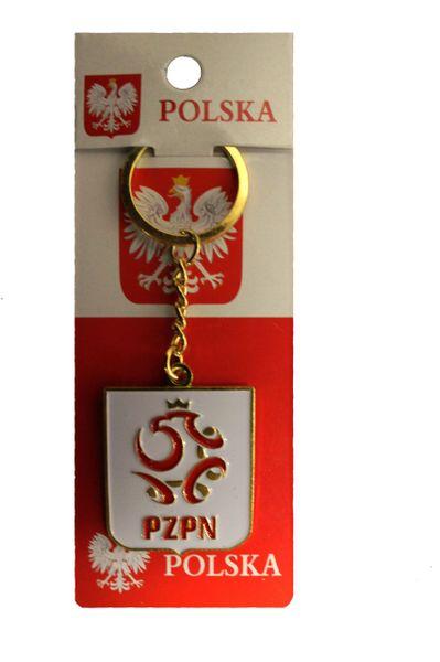 POLSKA POLAND PZPN Logo FIFA WORLD Cup Metal KEYCHAIN