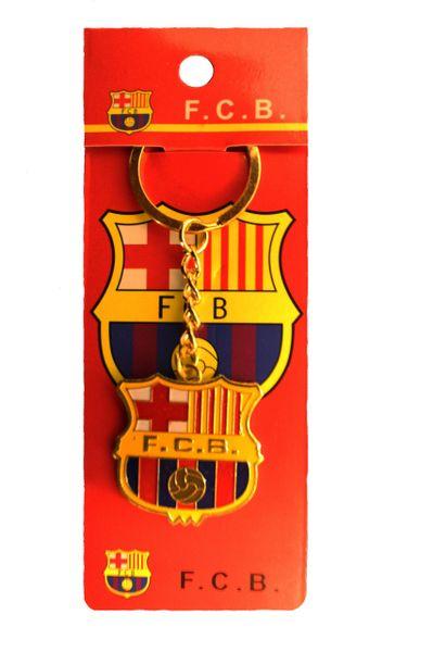 FC BARCELONA Logo Metal KEYCHAIN