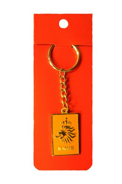 NETHERLANDS HOLLAND KNVB Logo Shaped FIFA WORLD Cup Metal KEYCHAIN
