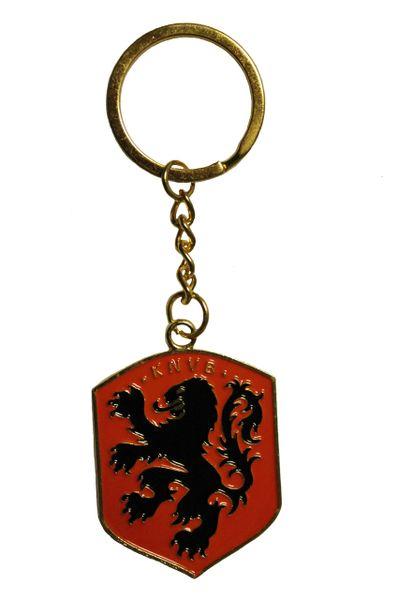 NETHERLANDS KNVB Logo Metal KEYCHAIN