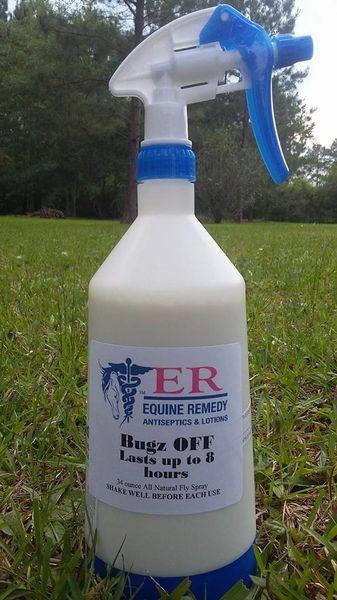 Equine Remedy Bugz OFF 34 Ounce Spray