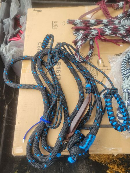 Halter - Hand Tied & made from Clinician Quality Yacht Rope
