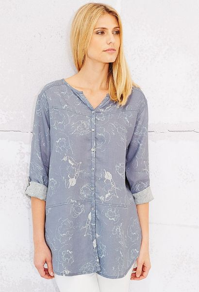 Adini Abstract Poppy Aubrey Tunic.