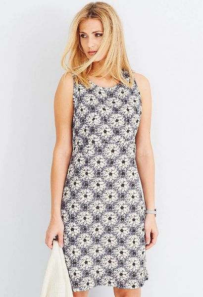 Adini Christo Print Christo Dress