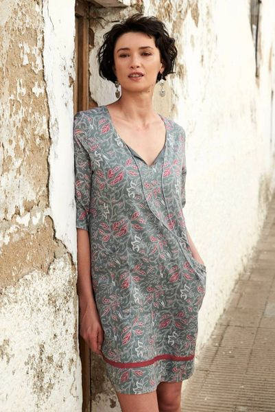Nomads Voile Tunic Dress