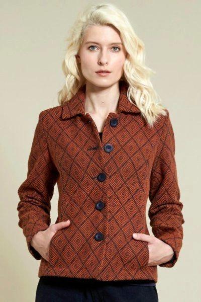 Nomads Handloom Jacket Sienna