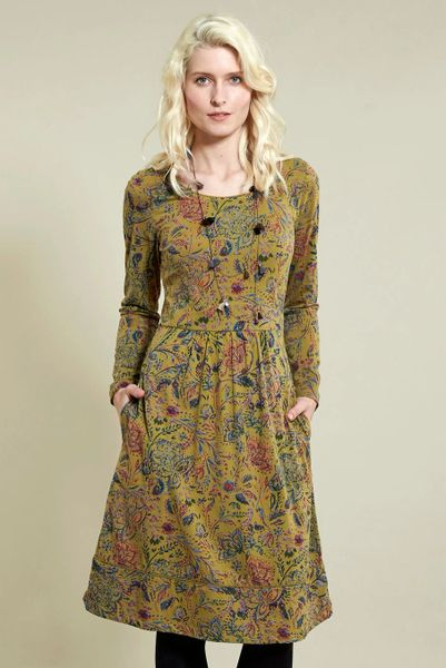 Nomads Amara Jersey Flared Dress.
