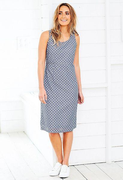 Adini Carey Dress Starboard Spot