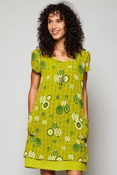 Nomads Zanzibar Tunic Dress Citrus
