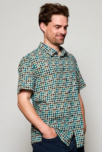 Nomads Men's Check Short Sleeve Shirt