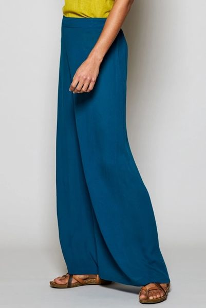 Nomads Crinkle Viscose Wide Leg Trousers.
