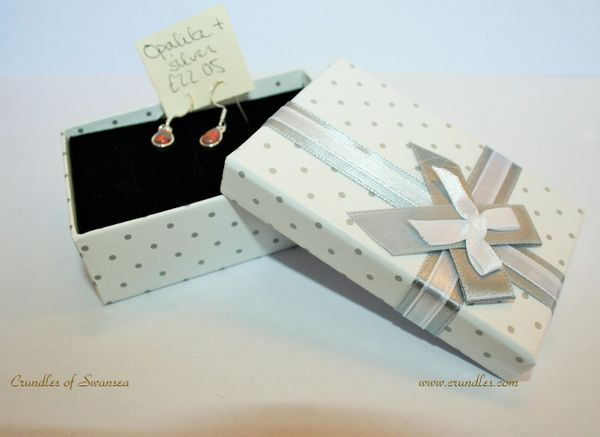 Opalite and Solid Silver Dropper Earrings