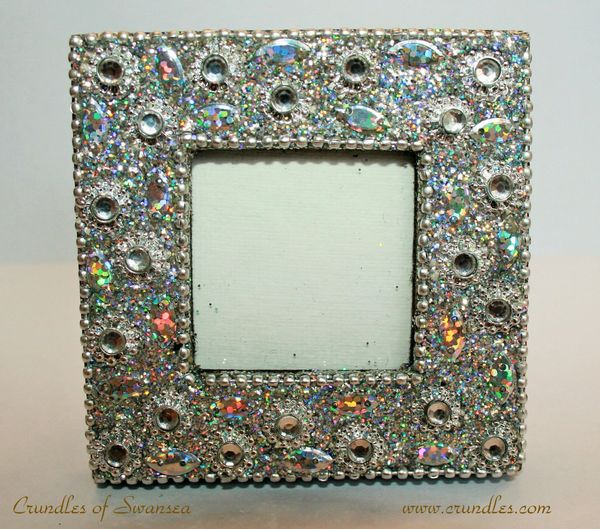 Small Ornate Jewelled Picture Frame