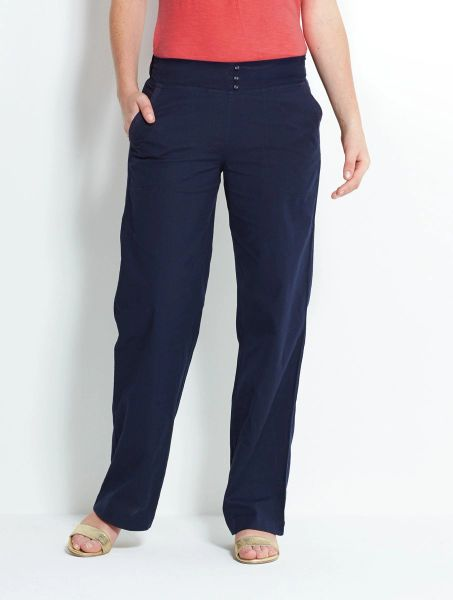Nomads Cotton Trousers Midnight