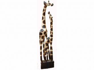 Mother and Baby Giraffe 1.00 metre
