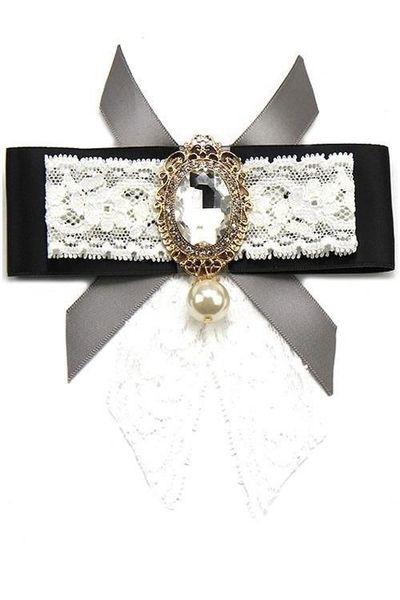 XO Bow Tie Pin