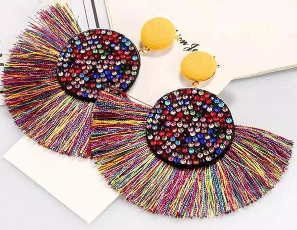 Rainbow Flare Earrings