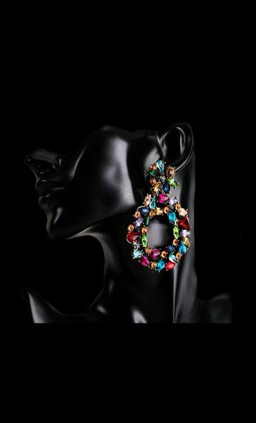 Rainbow Gem Earrings