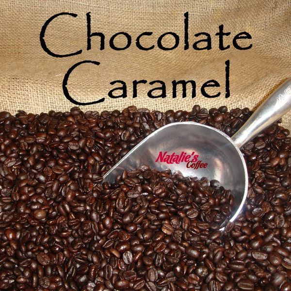 Chocolate Caramel Fresh Roasted Gourmet Flavored Coffee