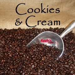 Cookies N Cream Fresh Roasted Gourmet Flavored Coffee
