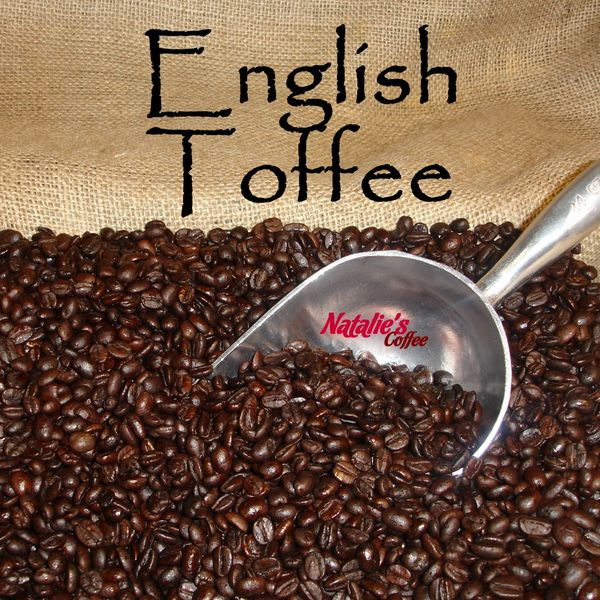 English Toffee Fresh Roasted Gourmet Flavored Coffee