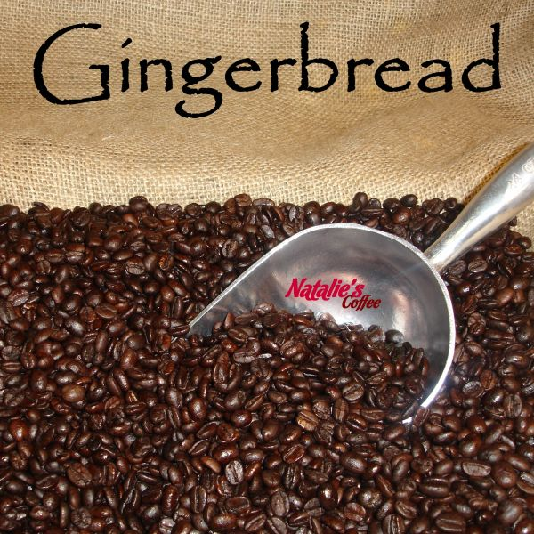 Gingerbread Fresh Roasted Gourmet Flavored Coffee