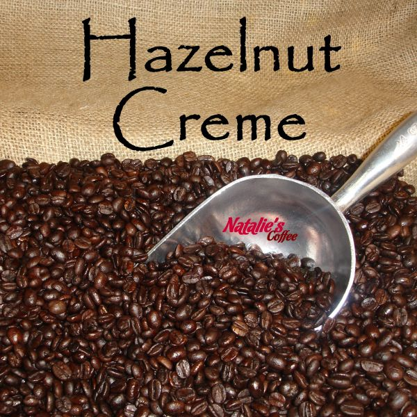 Hazelnut Creme Fresh Roasted Gourmet Flavored Coffee