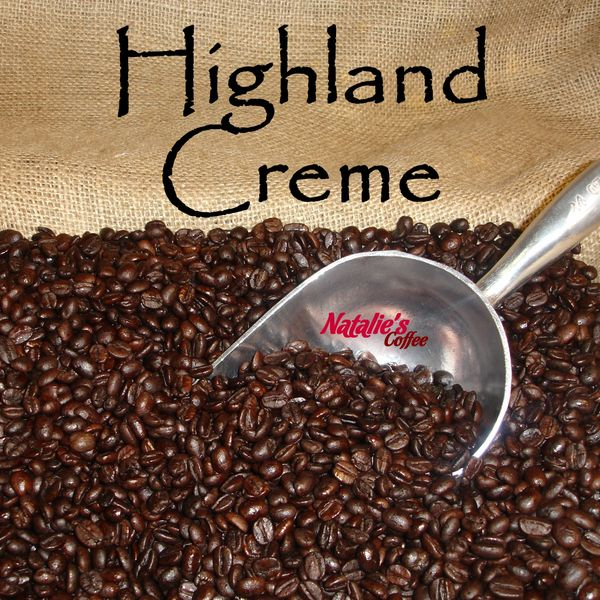Highland Creme Fresh Roasted Gourmet Flavored Coffee