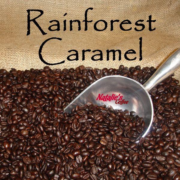 Rainforest Caramel Crunch Gourmet Flavored Coffee