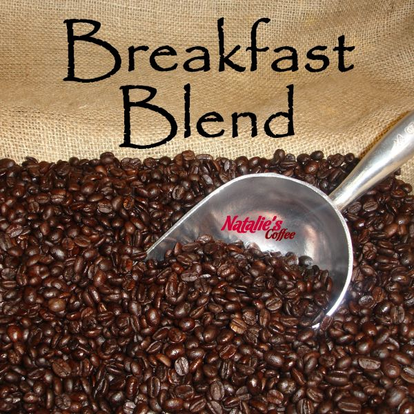 Breakfast Blend Fresh Roasted Gourmet Coffee 12 oz. Bag