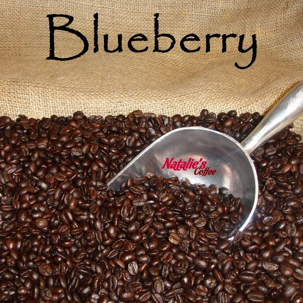Blueberry Fresh Roasted Gourmet Flavored Coffee