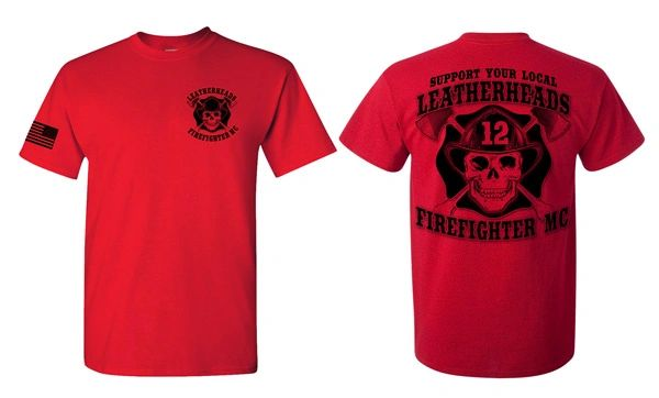 Leatherheads Red Support Shirt