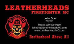 Leatherheads FFMC Business Cards