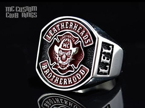 Leatherheads FFMC Club Ring