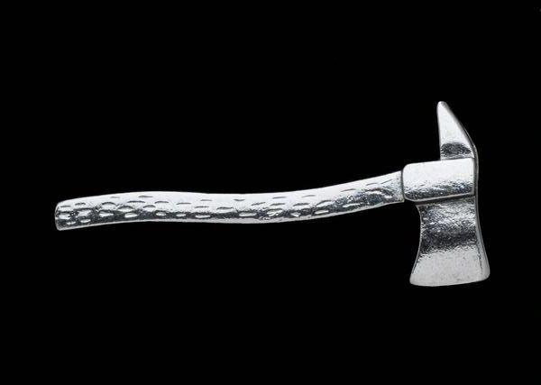Silver Fire Axe Pin