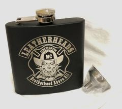 Leatherheads Flask