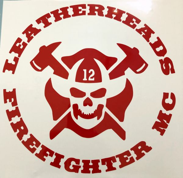 Leatherheads Round Logo Decal