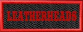 LEATHERHEADS Patch