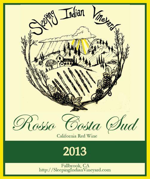 2013 Rosso Costa Sud Sangiovese