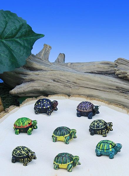 MT100 Mini Turtles (12 PC SET)