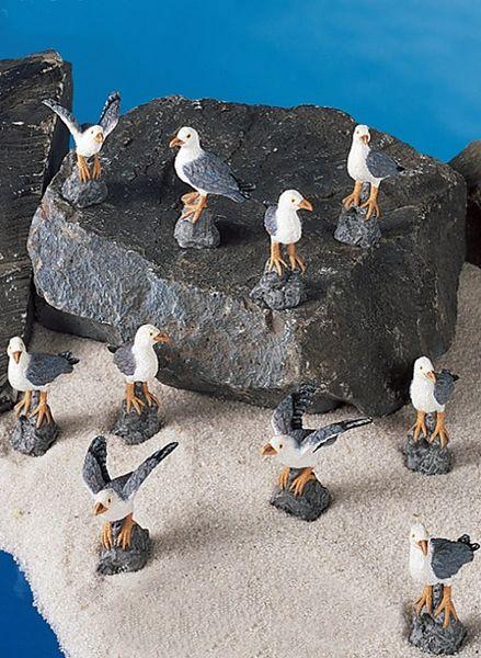 MSG100 Mini Seagulls (12 PC SET)