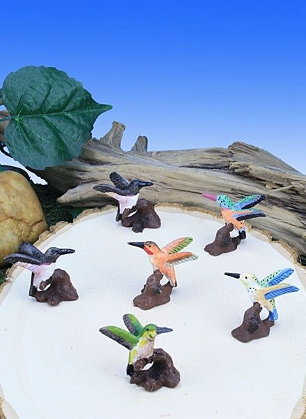 MHU100 Mini Hummingbirds (12 PC SET)