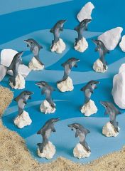 MDO100 Mini Dolphins (12 PC SET)
