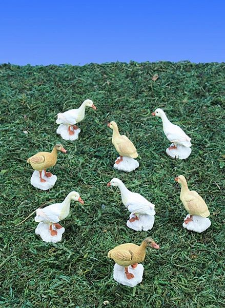 MBD100 Mini Barnyard Ducks (12 PC SET)