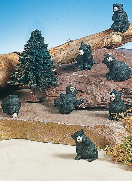 MBB100 Mini Black Bear (12 PC SET)