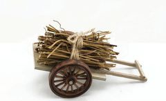 "FA29 Cart w/Hay 6"" (12 PCS SET)"