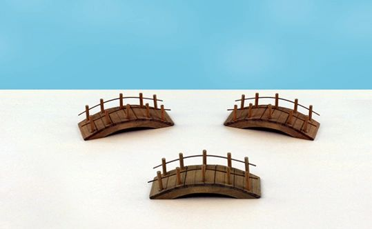 FA24 Wooden Bridge (12 PCS SET)