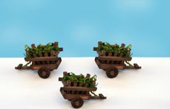 FA28 Wooden Cart (12 PCS SET)