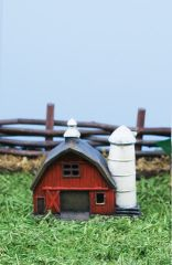 FA94 Sm Fairy Barn with LED Light (6 PCS SET)